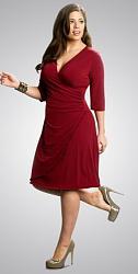 Шикарные праздничные платья для полных женщин-190-jpg