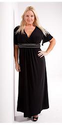 Шикарные праздничные платья для полных женщин-54-jpg