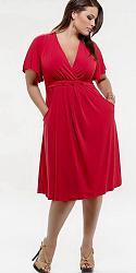 Шикарные праздничные платья для полных женщин-92-jpg