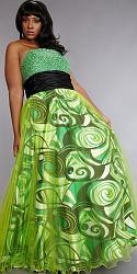 Шикарные праздничные платья для полных женщин-148-jpg