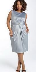 Шикарные праздничные платья для полных женщин-153-jpg