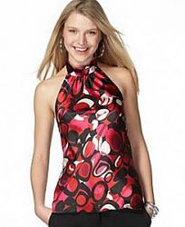 Блузки с американской проймой-bluzka-shelkovaya-s-neobychnym-printom-jpg