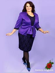 Одежда для полной девушки.-stilnye-kostyumy-dlya-polnyh-zhenschin-jpg