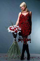 Платья из цветов-platja-iz-cvetov-jpg