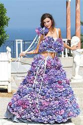 Платья из цветов-plate-iz-fialok-jpg