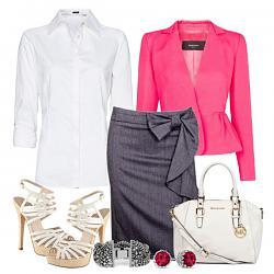 С чем носить розовый пиджак?-s-chem-nosit-belye-bosonozhki-na-kabluke-10-jpg