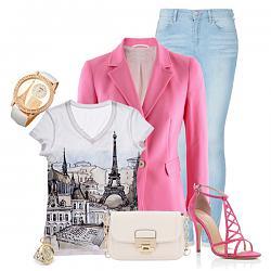 С чем носить розовый пиджак?-s-chem-nosit-rozovye-bosonozhki-4-jpg