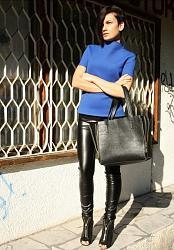 Кожаные брюки-11-jpg