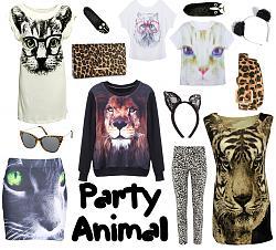 Вещи с изображениями зверей - хозяивами года. Красиво ли?-party-animal2-jpg