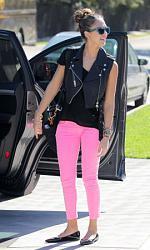 Розовые джинсы - с чем сочетать-11-2-jpg