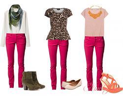 Розовые джинсы - с чем сочетать-11-5-jpg