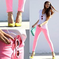 Розовые джинсы - с чем сочетать-11-9-jpg