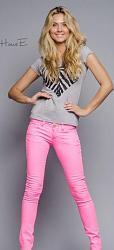 Розовые джинсы - с чем сочетать-11-10-jpg
