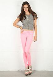 Розовые джинсы - с чем сочетать-11-13-jpg
