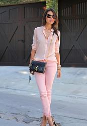 Розовые джинсы - с чем сочетать-11-14-jpg