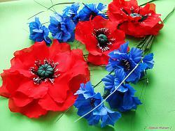 Я создаю цветы из ткани-dsc05490-jpg