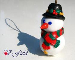 Новогодние игрушки из полимерной глины-11-3-jpg
