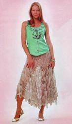 Ажурная юбка-dlinnaya-vyazanaya-yubka-s-uzorom-ananasi-kruchkom-175x300-jpg