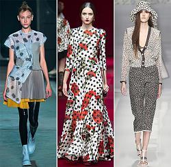 Клетка, полоска или нестандартный рисунок?-spring_summer_2015_print_trends_polka_dots_fashionisers-jpg