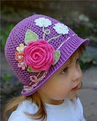 Летний головной убор для маленькой девочки-detskie_vyazanye_panamki_0-jpg