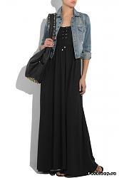С чем одеть длинное платье?-23-jpg