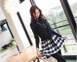 Что можно одеть под клетчатую юбку-hh-111622dress-black-0-11162206-jpg