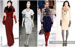 Что одеть с платьем?-moda-osen-zima2012-jpg