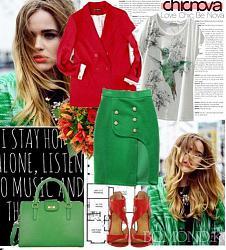 Правильно подобранные цвета в одежде-это всегда модно.-krasnyy-i-zelenyy-jpg