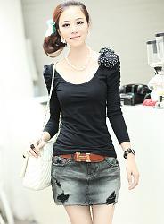 С чем одеть лонгслив?-hh-15768blouse-black-0-1576806-jpg