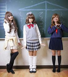 Стиль японских школьниц-yaponskie-shkolnicy-jpg