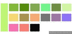 Какой цвет сочетается с салатовым?-green1111-jpg