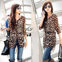 Как научиться стильно и правильно одеваться?-2013-casual-korean-font-b-women-s-b-font-fashion-nice-leopard-font-b-blouses-b-jpg