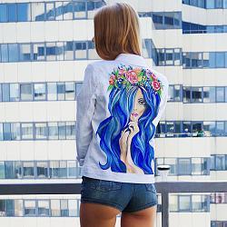 Джинсовая куртка: как создать стильный образ-devushki-v-obrazah-jpg