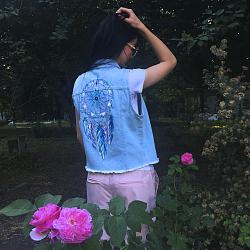 Джинсовая куртка: как создать стильный образ-talismani-jpg