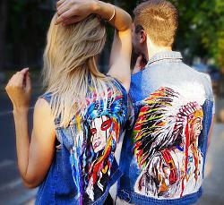 Джинсовая куртка: как создать стильный образ-indian-jpg