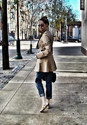 Как носить плащ с обувью без каблука-photo-1-11-jpg
