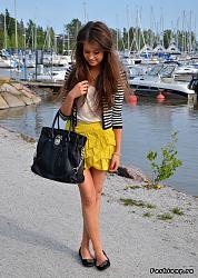 Можно ли носить с юбками обувь без каблука?-4-jpg