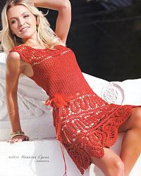 Красное платье-platie_krasnoe_s_azurom_po_nizu-jpg