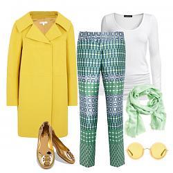 Зеленое +желтое-s-chem-nosit-zolotye-baletki-4-jpg