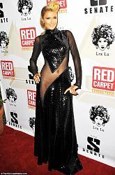 Модное платье Пэрис Хилтон на Diddy's 4th Annual Red Carpet Pre-Grammy Celebration-peris-hilton-jpg