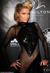 Модное платье Пэрис Хилтон на Diddy's 4th Annual Red Carpet Pre-Grammy Celebration-peris-hilton-1-jpg