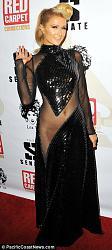 Модное платье Пэрис Хилтон на Diddy's 4th Annual Red Carpet Pre-Grammy Celebration-peris-hilton-2-jpg