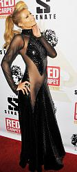 Модное платье Пэрис Хилтон на Diddy's 4th Annual Red Carpet Pre-Grammy Celebration-peris-hilton-3-jpg