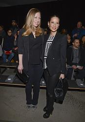 Неделя моды в Нью-Йорке-lyusi-lyu-chelsi-klinton-jpg