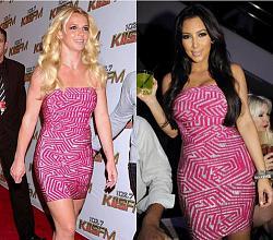 Одинаковые платья на знаменитостях-britni-spirs-%E2%80%93-kim-kardashyan-jpg