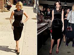 Одинаковые платья на знаменитостях-diana-agron-i-snezhana-georgieva-jpg