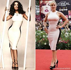 Одинаковые платья на знаменитостях-salma-haiek-i-keit-uinslet-jpg