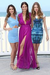 Адриана Лима, Бехати Принслу и Лили Олдридж на пляжной вечеринке-pink-carpet-party-5-jpg