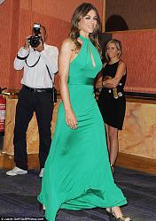 Лиз Херли в изумрудном платье от ISSA-liz-herli-3-jpg