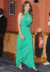 Лиз Херли в изумрудном платье от ISSA-liz-herli-5-jpg